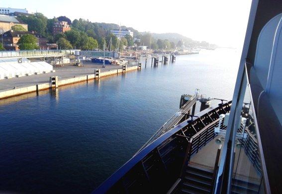 Ostseekai in Kiel