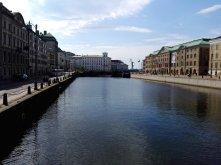 Göteborg auf der Tyska Bron