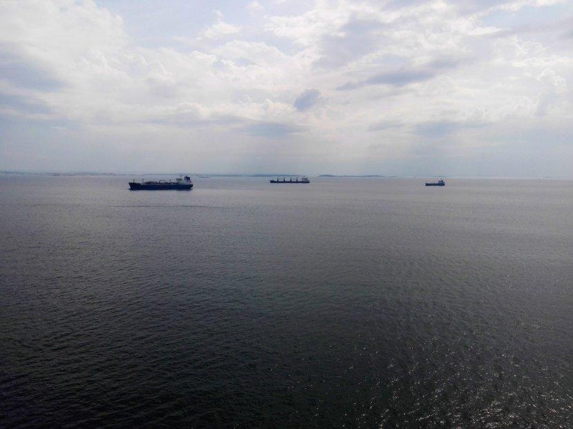 Schiffsverkehr vor Göteborg