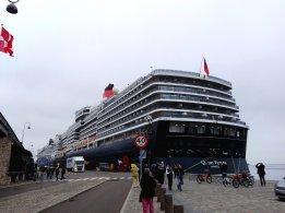 Queen Victoria am Langeliniekaj in Kopenhagen