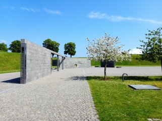 Monument to Denmark's international activities after 1948