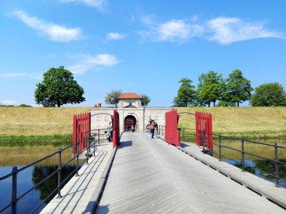 Brücke und Eingang zum Kastellet
