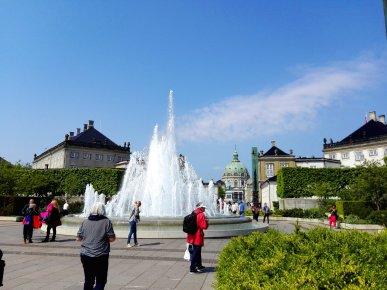 Amaliehaven Springbrunnen