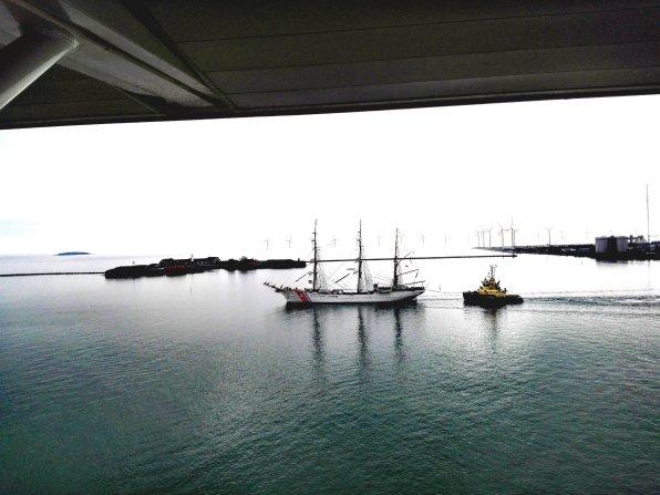 US Coast Guard läuft aus Kopenhagen aus