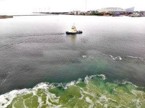 Schlepper im Hafen von Kopenhagen