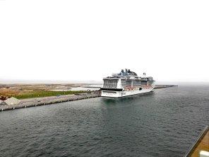 MSC Meraviglia am Oceankaj in Kopenhagen