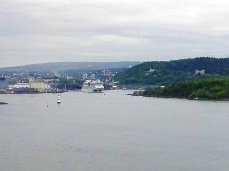 AIDAluna läuft aus Oslo aus