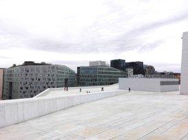 Ausblick vom Dach des Opernhauseses