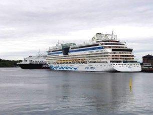 AIDAluna in Oslo