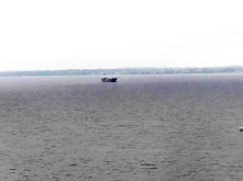 Frachter im Öresund