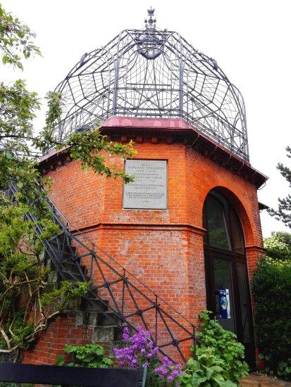Pavillon im alten botanischen Garten