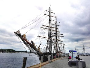 Segelschiff Roald Amundsen