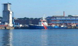 Im Hafen von Kiel
